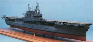 Blue Water 1:350 Scale Model