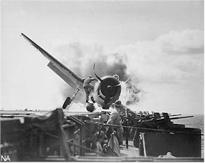 Hellcat Crashes, November 1943