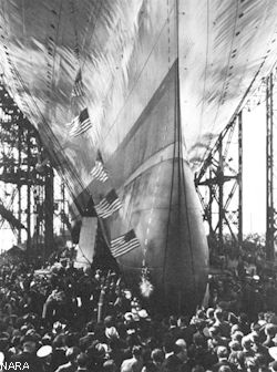 Launching, Oct. 3, 1936