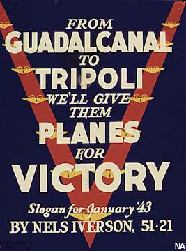 Morale Poster, January 1943