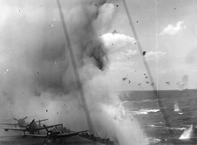 [Kamikaze - Near Miss - April 1945]